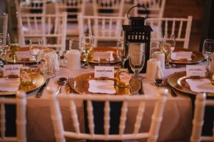 Small historic wedding venue - etiquette still important